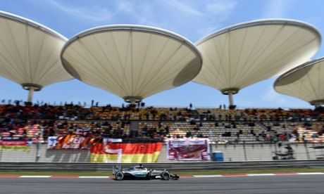 Lewis Hamilton completes pole position hat-trick at F1 Chinese GP