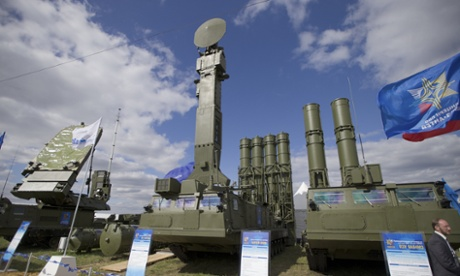 Vladimir Putin authorises delivery of missile system to Iran