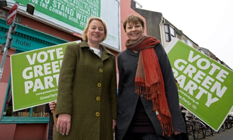 Green party manifesto calls for peaceful political revolution to end austerity