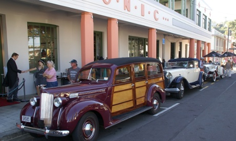 Napier celebrates its art deco history.