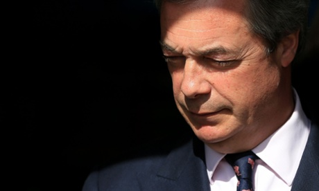 Real change can only be gained through Ukip, claims Nigel Farage
