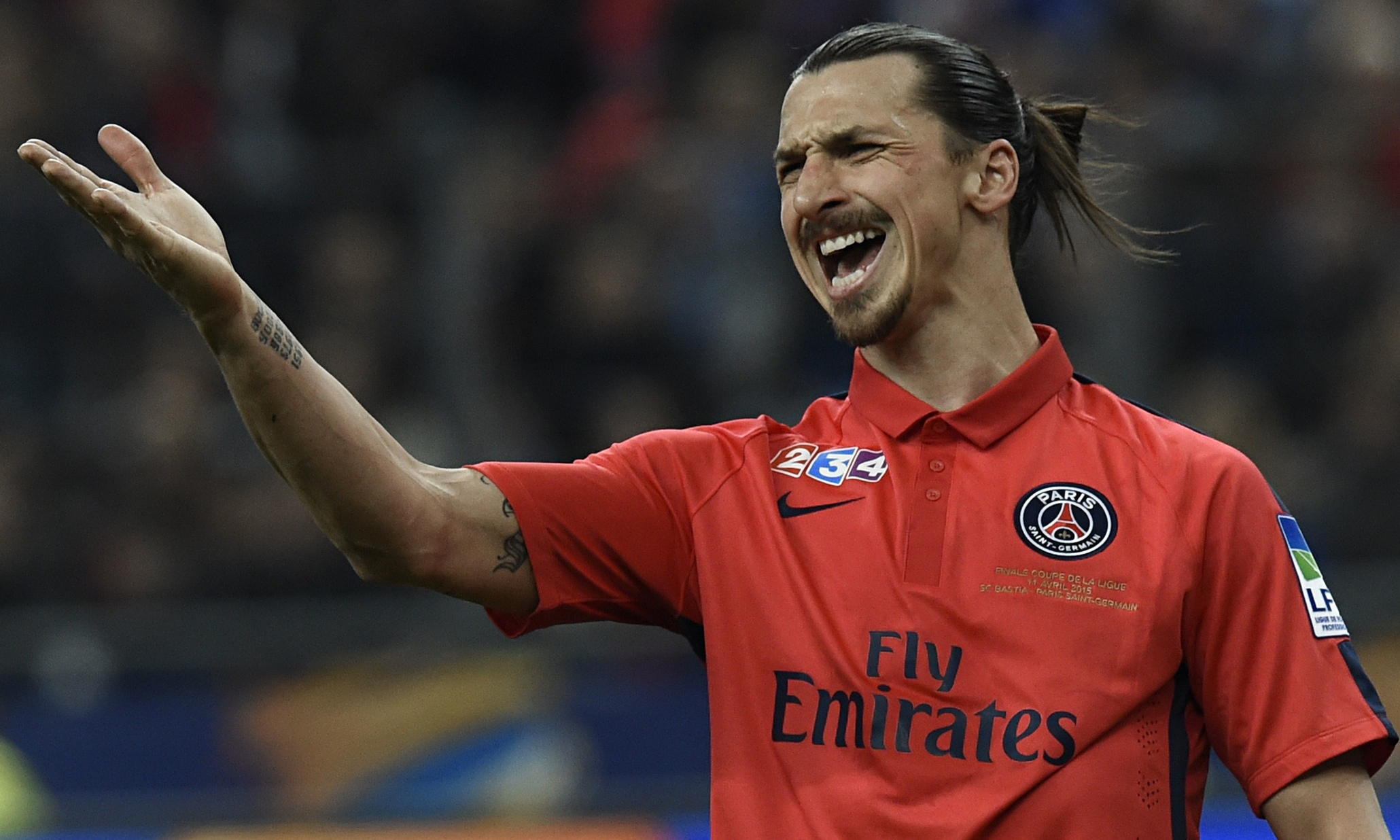 Paris SaintGermain appeal against Zlatan Ibrahimovic's fourmatch