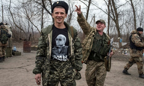 'Words are our weapon': video mocking Ukrainian separatists goes viral