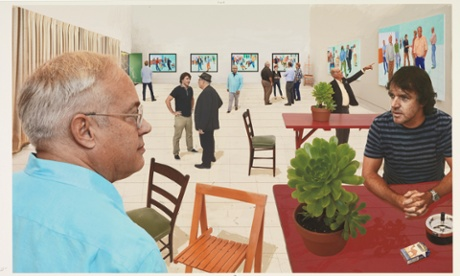 David Hockney changes perspective with move indoors for London show