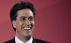 Ed Miliband smiling.