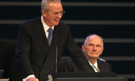 VW boss Martin Winterkorn defeats chairman Ferdinand Piech