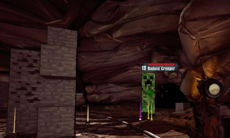 Borderlands and Minecraft