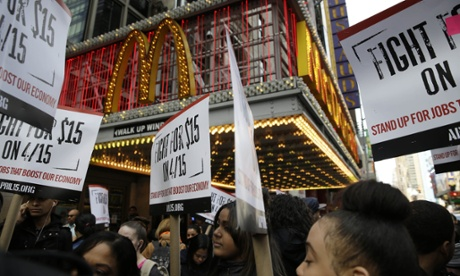 Workers respond to McDonald's pay increase: we fight on