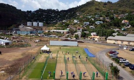 Sport picture of the day: England snapped in the Grenada nets