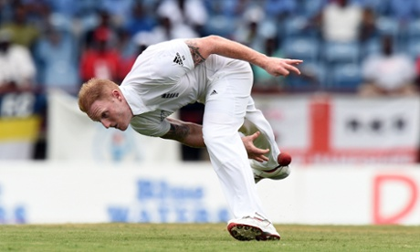 Sport picture of the day: Ben Stokes fields