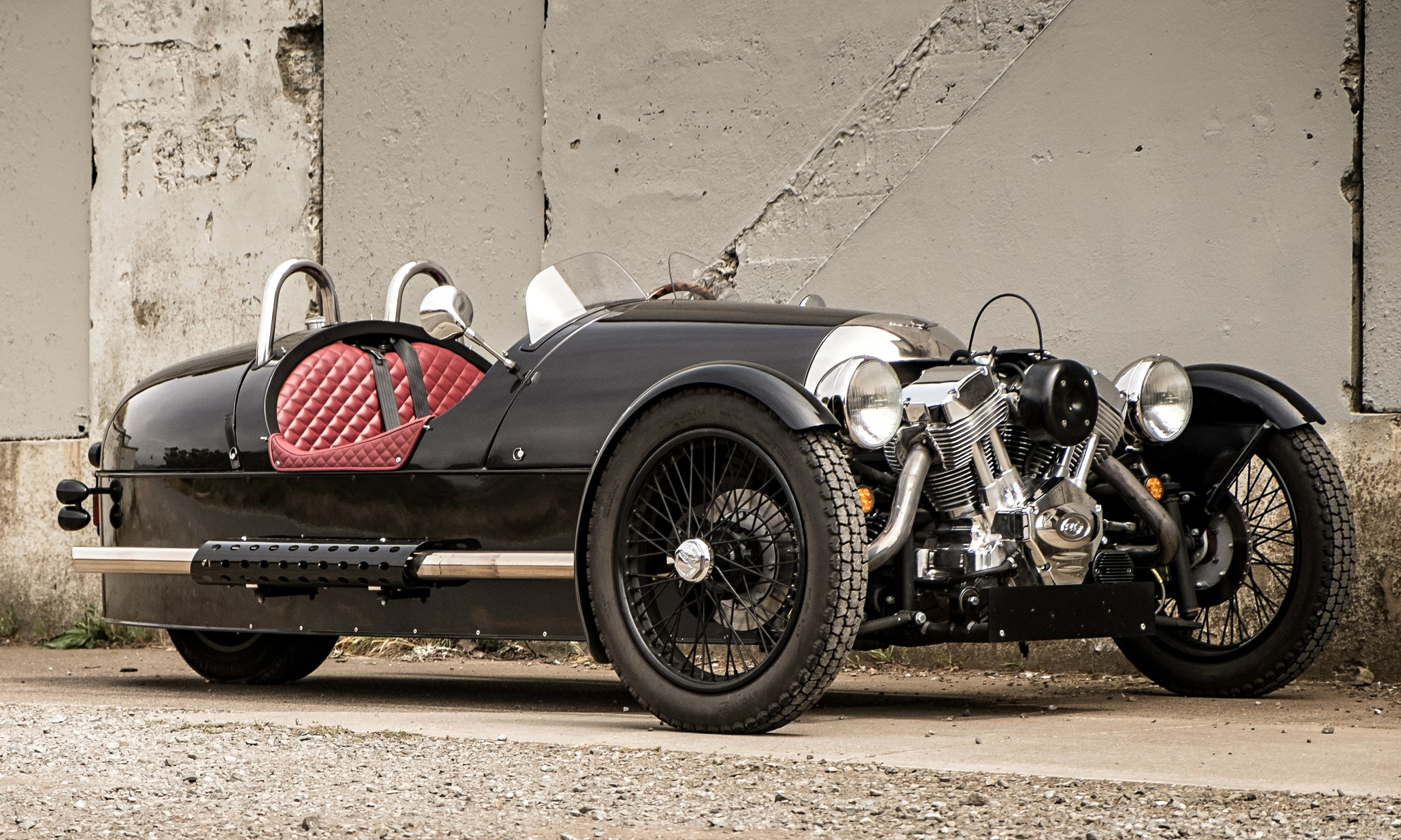 morgan three wheeler car review martin love technology the guardian. Black Bedroom Furniture Sets. Home Design Ideas