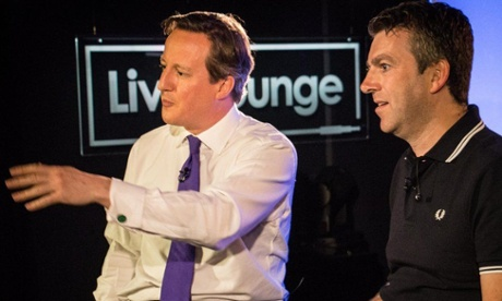 David Cameron falters on living wage question in Radio 1 interview