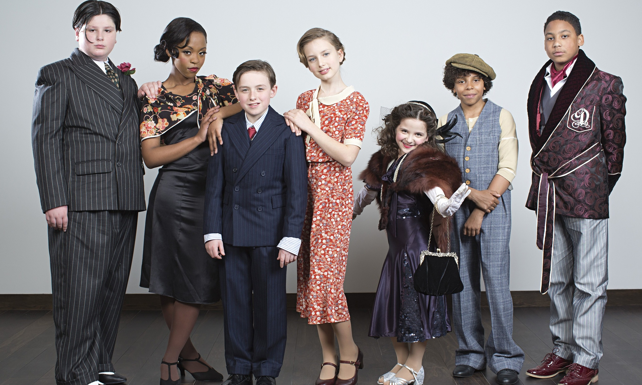 Bugsy Malone Car Cast of New 'bugsy Malone'