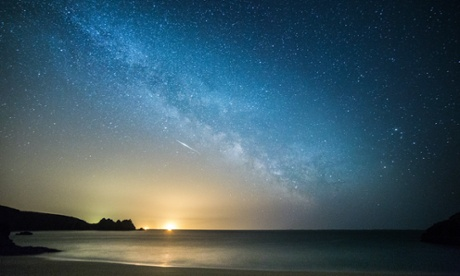 Catch a falling star: the Lyrid meteor shower - in pictures
