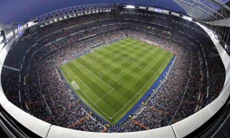 Sport picture of the day: bird's eye view at the Bernabéu