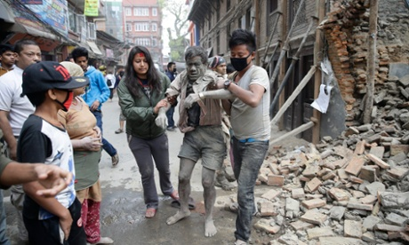 Nepal earthquake: death toll exceeds 1,000 people – all the day's events as they happened