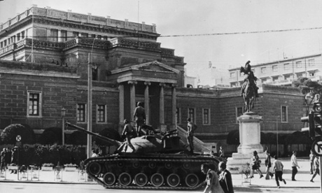 Greek junta has created a 'slaughterhouse': from the archive, 2 May 1970