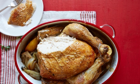 Cook once, make four meals with roast chicken