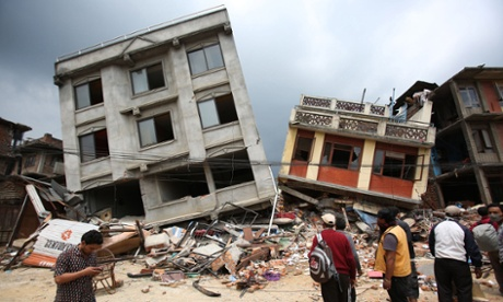 Nepal earthquake: a disaster that shows quakes don't kill people, buildings do