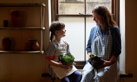 Leisurely weekend cooking with the kids