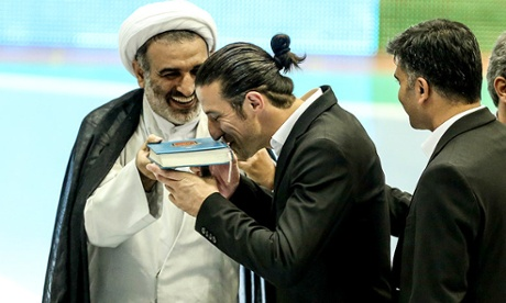 First Christian football captain in Iran as Rouhani puts focus on minorities
