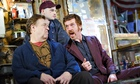 John Goodman, Tom Sturridge and Damian Lewis in American Buffalo by David Mamet at the Wyndham's the
