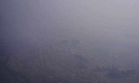 Indian minister promises to tackle country's acute air pollution problem