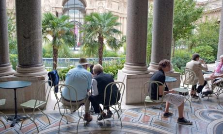 10 best museum cafes restaurants in paris for Cafe le jardin du petit palais