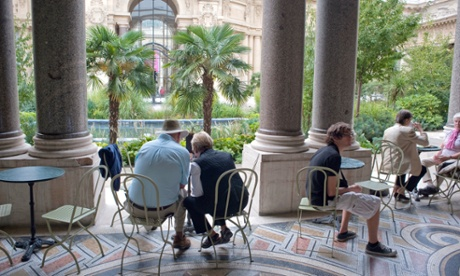 10 best museum cafes restaurants in paris for Restaurant paris jardin