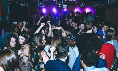 Clubbing at Birthdays in Dalston