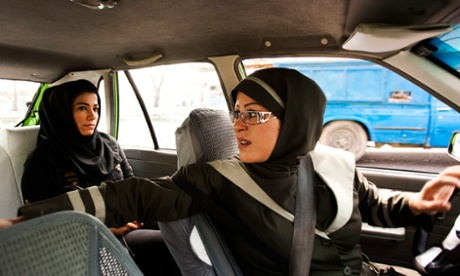 The logistics of the Tehran taxi commute