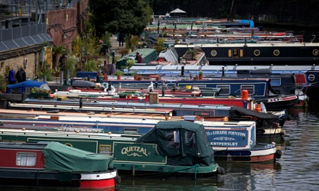 Troubled waterways: canals take the strain of London's housing crisis