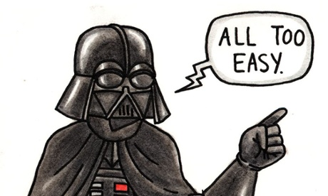 How to draw… Darth Vader