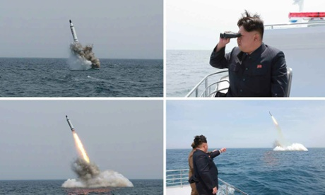 Fears that North Korea could have submarines with ballistic missiles in three years