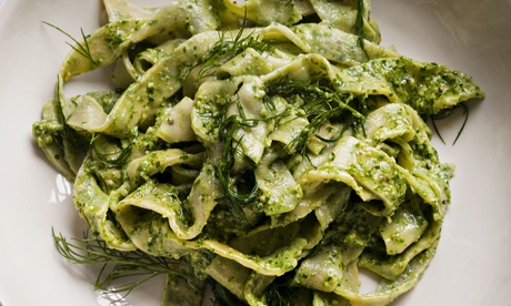 Nigel Slater's homemade pasta recipes