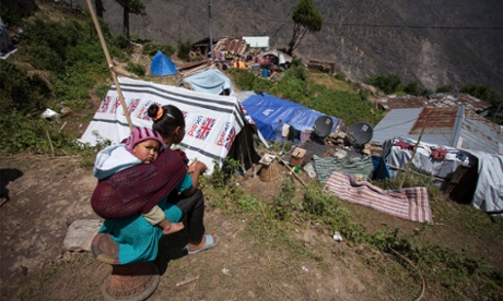 'We have nothing': survivors of Nepal's second quake left beyond hopeless