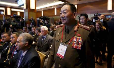 North Korea defence chief reportedly executed with anti-aircraft gun