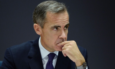 Bank of England lowers forecasts for UK