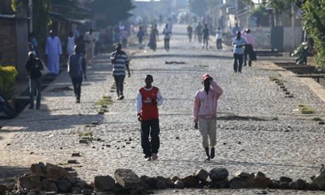 Heavy fighting erupts between rival Burundi troops