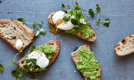 Cook once, make four meals with smashed peas
