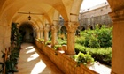 The Cloister in the Franciscan Monastery.