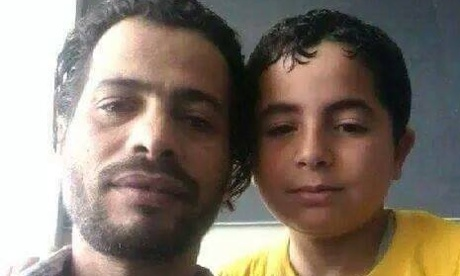 Trapped in Dubai airport: the father and son who had nowhere to go