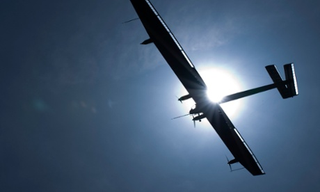 Solar aircraft to be flown across the Pacific in world record bid