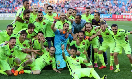 Barcelona transform season from trouble to a possible treble
