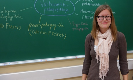 Highly trained, respected and free: why Finland's teachers are different