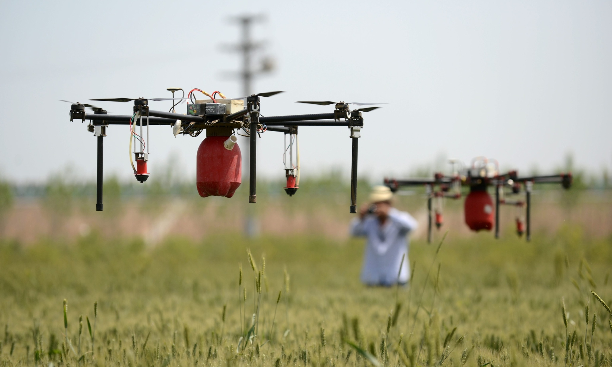 DRONES  The armed forces sight turned sustainability warrior