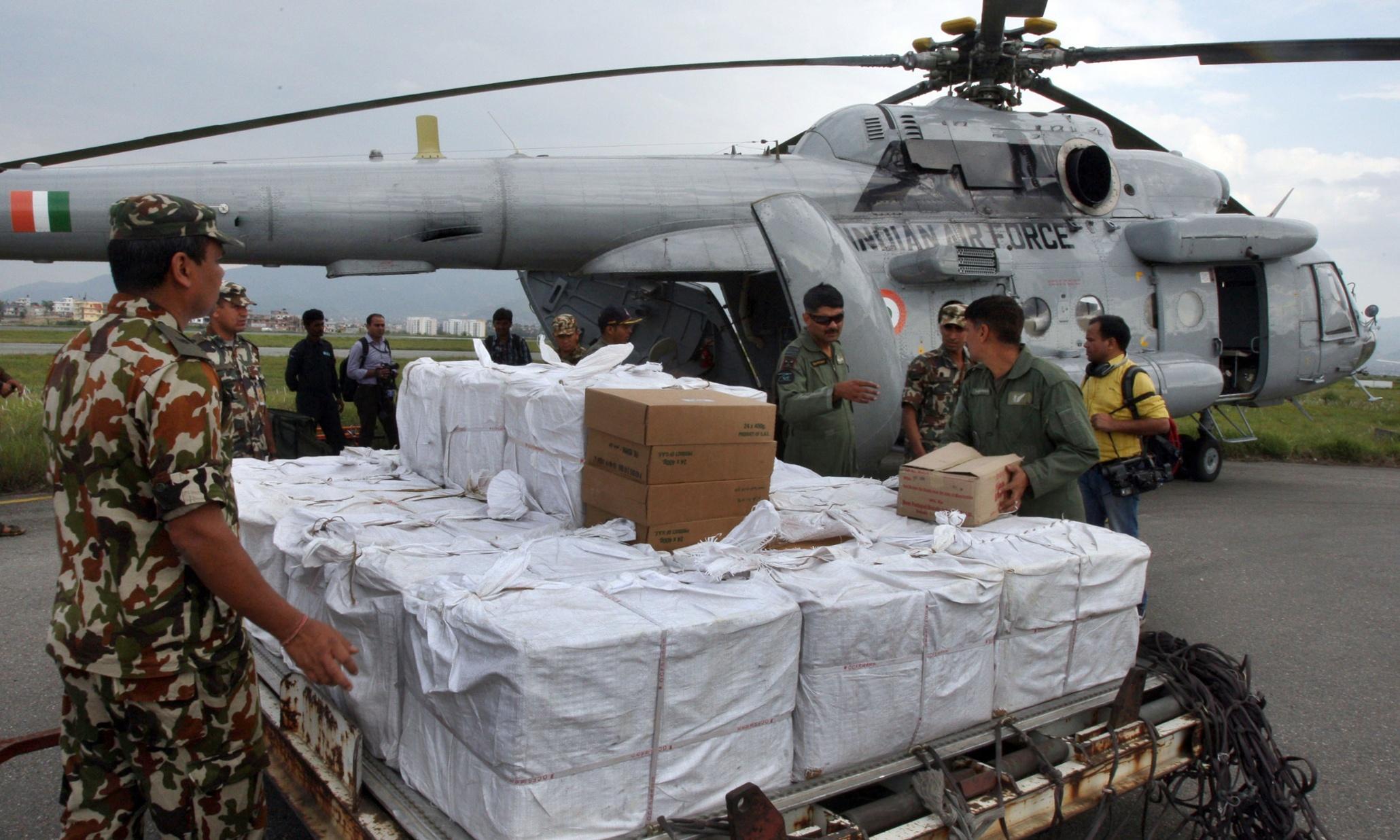 Nepal customs hampering earthquake relief: UN