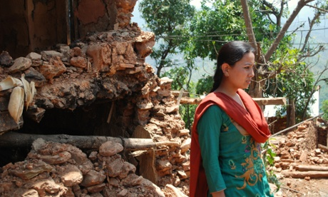 'No one has come': one week on, Nepal quake victims help themselves