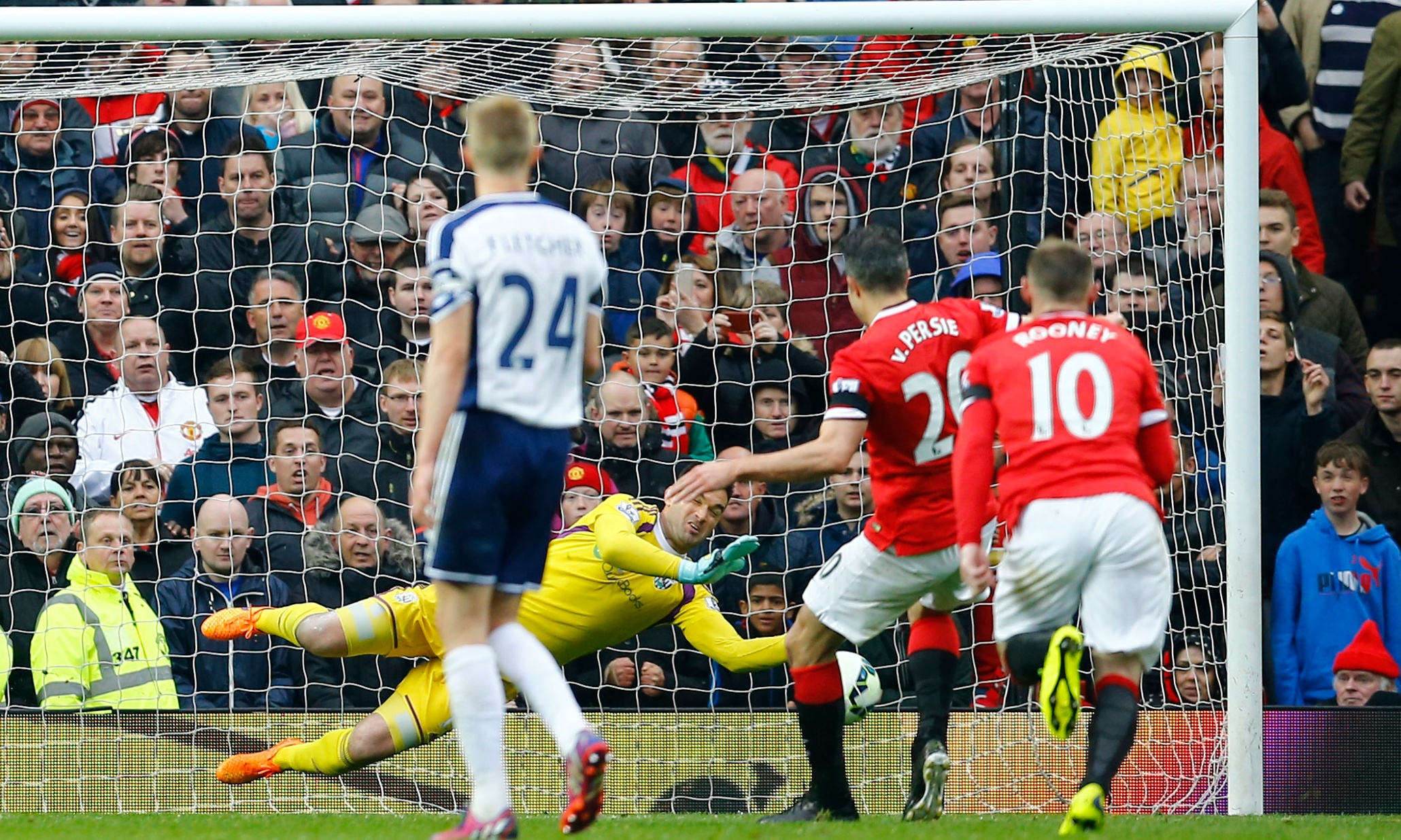 Manchester United v West Brom: Premier League – as it ...