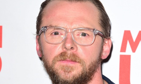 Simon Pegg: 'still a nerd and proud' after dumbing down of cinema comments